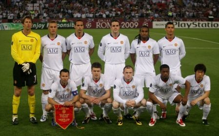 Manchester United Line Up