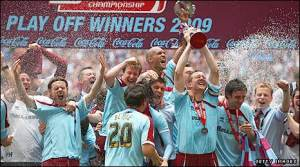 20008/2009 Coca-Cola Championship Play-off winner - Burnley (prize 60million UK pound)