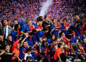 2008/2009 La Liga Champios - Barcelona