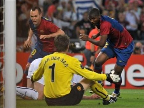 Samuel Eto'o - 1st goal of Barcelona - 10th minutes