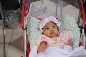 Baby Safirah Auni time kt East Coast Mall