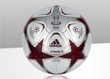 Official Ball for UCL Final 2008/2009