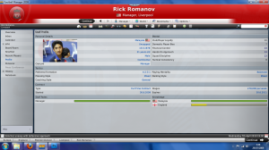 Rick Romanov applied to be a manager for Liverpool FC