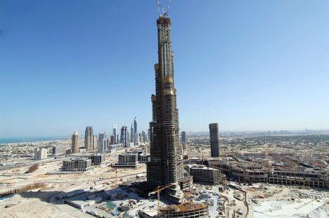 Pejadah-ITU mcm burj-dubai tower gilernye....